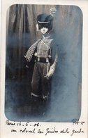 96Ve   Carte Photo Colonel Des Guides De La Garde Napoleon 1er - Uniformen