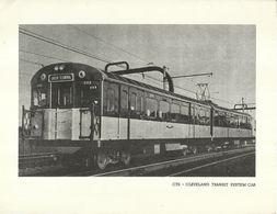 "4489 ""CTS - CLEVELAND TRANSIT SYSTEM CAR"" ORIGINALE - Ferrovie"