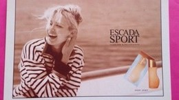 ESCADA SPORT SPIRIT - Cartes Parfumées