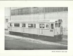 "4490 ""NYCTA - WORLD'S FAIR CARS"" ORIGINALE - Ferrovie"