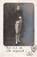 96Ve   Carte Photo Sa Majesté Impériale Napoleon 1er - Uniformen