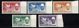 Guinee 1959  Yv 3/7** 2 Octobre 1958 - Proclamation De L' Indépendance  MNH - Guinée (1958-...)