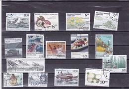 GROENLAND :  : Y&T :lot De 15 Timbres Oblitérés - Groenland