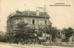 VAL D'OISE  ARGENTEUIL   Hotel Restaurant Du Marais - Argenteuil