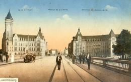 Luxembourg - Caisse D'épargne, Avenue Liberté, Direction Des Chemins De Fer - Luxembourg - Ville