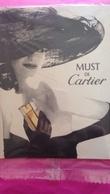 MUST DE CARTIER   SOUS CELLO - Parfumkaarten