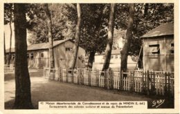 CPA - MINDIN -  MAISON DEPARTEMENTALE DE CONVALESCENCE ET DE REPOS - France