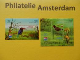 Indonesia 1998, FAUNA BIRDS OISEAUX VOGELS VÖGEL AVES: Mi 1824-25, Bl. 135-136, ** - Pájaros