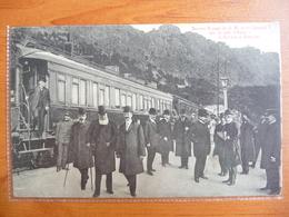 CPA - Dernier Voyage Du Roi Léopold II Sur La Côte D'Azur - Beaulieu -Train Luxe Compagnie Des Wagons Lits - Préfet Joly - Beaulieu-sur-Mer