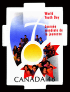 Canada (Scott No.1957 - Année Interbational D'enfant / International Youth Year) [**] Die Cut - Neufs