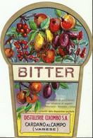 """4491 """"BITTER-DISTILLERIE COLOMBO S.A.-CARDANO AL CAMPO-VARESE"""" ORIGINALE - Etiketten"""