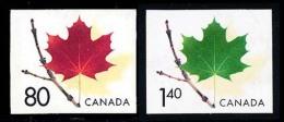 Canada (Scott No.2013-14 - Feuille D'érable / Maple Leaf) (o) Paire / Pair - 1952-.... Règne D'Elizabeth II