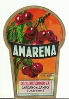 "4493 ""AMARENA-DISTILLERIE COLOMBO S.A.-CARDANO AL CAMPO-VARESE"" ORIGINALE - Altri"
