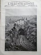 L'illustrazione Italiana 19 Novembre 1916 WW1 Aldo Carpi Cannoni Mentessi Rodi - Guerra 1914-18