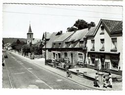 Anhée - La Grand'Rue Et L'Eglise - Circulée - Edit. De Mario - Yvoir - 2 Scans - Anhée