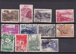 Portugal -macau Usados -327 Ao 338 - Collezioni