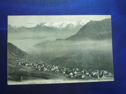 1913 LESCUN VALLEE D'ASPE VUE GENRALE BON ETAT - Autres Communes