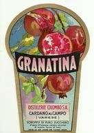 """4495 """"GRANATINA-DISTILLERIE COLOMBO S.A.-CARDANO AL CAMPO-VARESE"""" ORIGINALE - Altri"""