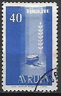 TURQUIE     -     1958.   Y&T N° 1413 Oblitéré.    EUROPA - 1921-... República