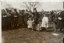 LONDON INAUGURATION HAMPSTEAD GARDEN MISS BURNETT 16*12 CM Fonds Victor FORBIN 1864-1947 - Lugares