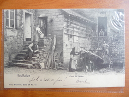 CPA - Houffalize - Cour De Ferme - Nels 26 , N° 68 . Cachets Bertrix - Bruxelles - 1904 - Houffalize