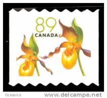 Canada (Scott No.2129iii - Fleur / Flower) [**]  Perf 6.75-7  NOTE - Neufs