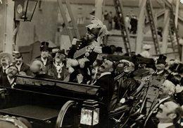 DUKE OF NORFOLK AT LITTLEHAMPTON BRIDGE  LADY HOWARD  16*12 CM Fonds Victor FORBIN 1864-1947 - Personalidades Famosas