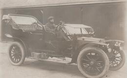 CARTE PHOTO BELLE AUTOMOBILE - Passenger Cars