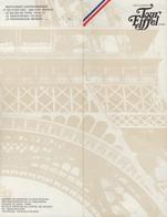 MENU RESTAURANTS TOUR EIFFEL PARIS - DINER DE GALA DU 14 JUILLET 1967 - Menus