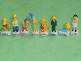 Fèves / Dessins Animés : Lot De 8 Fèves , Les Simpson 2008 (manque Nelson Et Ned ) TB3 - Cartoons