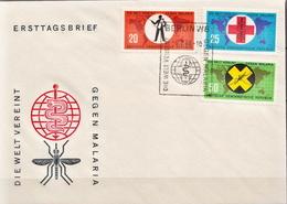 Germany / DDR Set On FDC - Disease