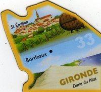 Magnets Magnet Le Gaulois Departement Tourisme France 33 Gironde - Tourism