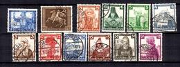 Allemagne/Reich YT N° 477, N° 547/556 Et N° 612 Oblitérés. B/TB. A Saisir! - Deutschland
