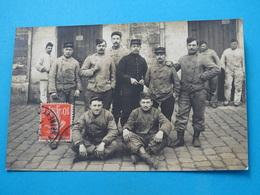 78 ) St. Cyr L'ecole - Carte Photo - Mècaniciens - Année  - EDIT : Noari - St. Cyr L'Ecole