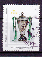 FRANCE COLLECTOR MONTIMBRAMOI Coupe Football SAINT ETIENNE Oblitéré - Personalizzati (MonTimbraMoi)