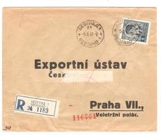 PR6584/ Yugoslavia Beograd Registered Cover 1940 To Prag Censored (german) - 1931-1941 Royaume De Yougoslavie