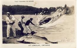 Longlac Ontario The Fishing Is Good - Ontario