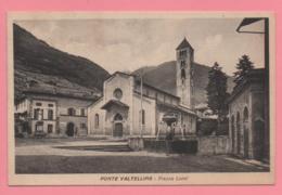 Ponte Valtellina - Piazza Luini - Sondrio