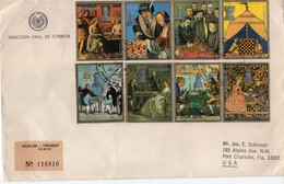 PARAGUAY  - 1978 WORLD CHESS CHAMPIONSHIP STAMPS  POSTAL HISTORY COVER   FDC6474 - Paraguay