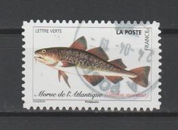 """FRANCE / 2019 / Y&T N° AA 1694 ? : """"Poissons De Mer"""" (Morue De L'Atlantique) - Oblitération Du 09/05/2019. SUPERBE ! - France"""