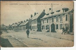 Sissonne Aisne Rue Aristide Briand Et Ses Hotels Restaurants - Sissonne