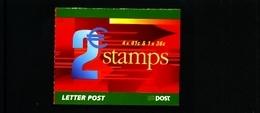 IRELAND/EIRE - 2002  € 2  BOOKLET BIRDS (4x41c.+1x36c.)   FINE USED FDI CANCEL - Libretti