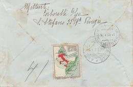 Venezia. 1936. Annullo Guller VENEZIA CORRISPONDENZA E PACCHI, Su Lettera Raccomandata. - 1900-44 Vittorio Emanuele III