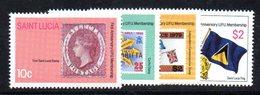APR1558 - ST. LUCIA 1981 , Yvert Serie  N 551/554   ***  MNH UPU - St.Lucia (1979-...)