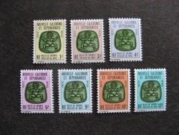 Nouvelle-Calédonie: TB Série Timbres De Service N° 14 Au N°20 , Neufs XX . - Dienstpost