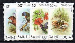 APR1560 - ST. LUCIA 1982 , Yvert Serie  N 526/528   ***  MNH - St.Lucia (1979-...)