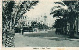 Nella Libia Italiana - Bengasi - Corso Italia - - Libia