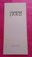 JAKO   LAGERFELD  3 Cartes - Cartes Parfumées