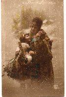ENFANTS 750 : Fillette Et Sa Mère Dans La Neige , Bonne Année , édit. Dix N° 1083/3 - Otros