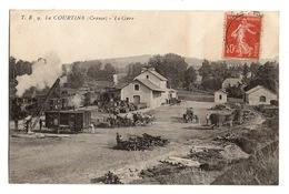 23 CREUSE - LA COURTINE La Gare Très Animée - La Courtine